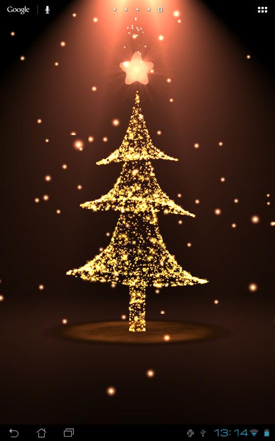 christmas tree scenes wallpaper images