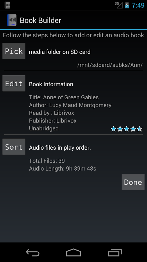AudioBook Companion Lite - screenshot