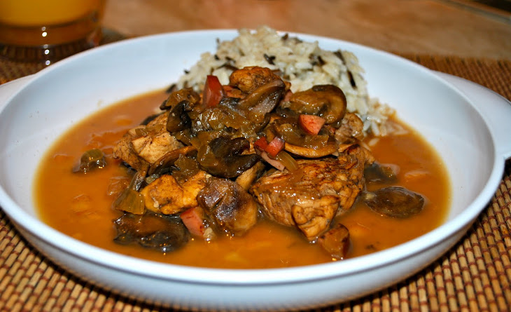 Chicken with Beer and Mushrooms Recipe