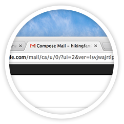 Gmail new tab compose