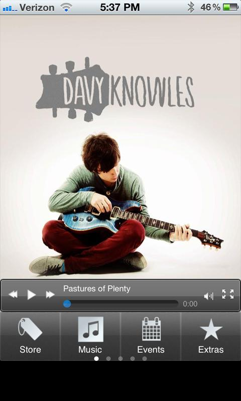 Davy Knowles- screenshot