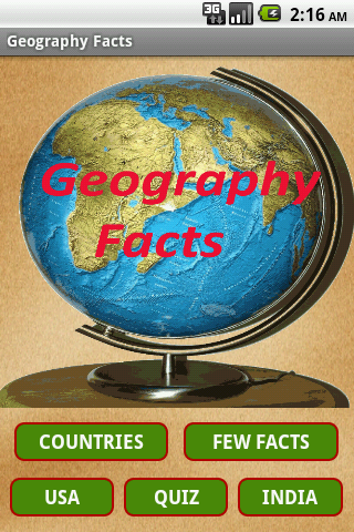 Geography Facts