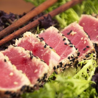 Sesame & Wasabi Seared Tuna.