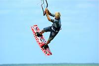 Kiteboarding in Tulum
