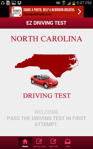 North Carolina Driving Test