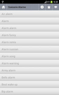 Morning alarm ringtones - screenshot thumbnail
