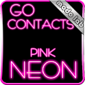 Pink Neon GO contacts theme icon