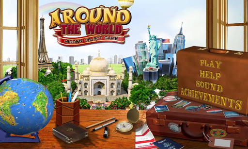 Around The World Hidden Object