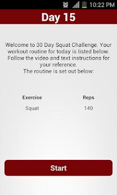 30 Day Squat Challengeのおすすめ画像3