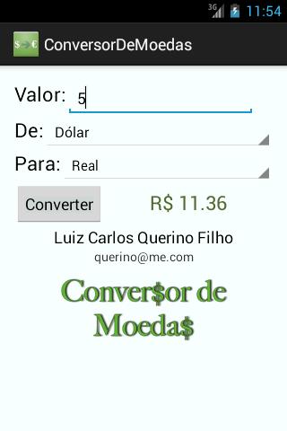 【免費財經App】Conversor de Moeda-APP點子