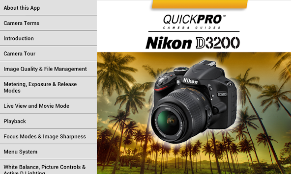 Nikon D3200 from QuickPro APK Latest Version Download - Free