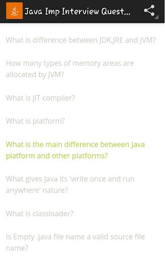 Java IMP Interview Questions