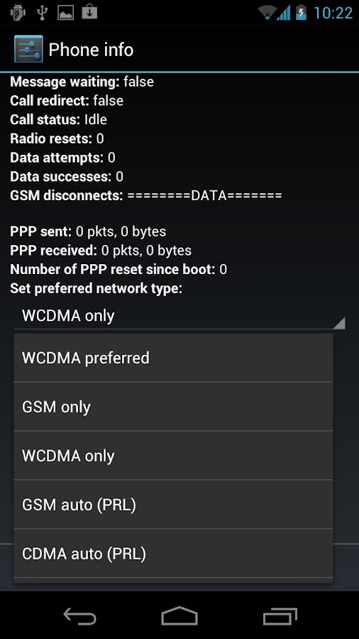 Viaero 4G Toggle - screenshot