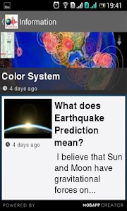 Earthquake Prediction screenshot 0