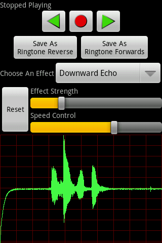 Voice Changer Pro (Vox Box)- screenshot