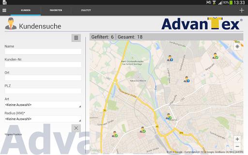 AdvanTex Mobile Sales 1.1