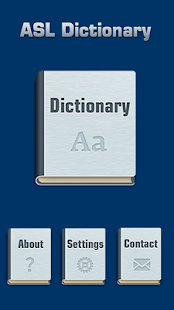 ASL Dictionary- screenshot thumbnail