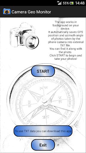 Camera Geo Monitor