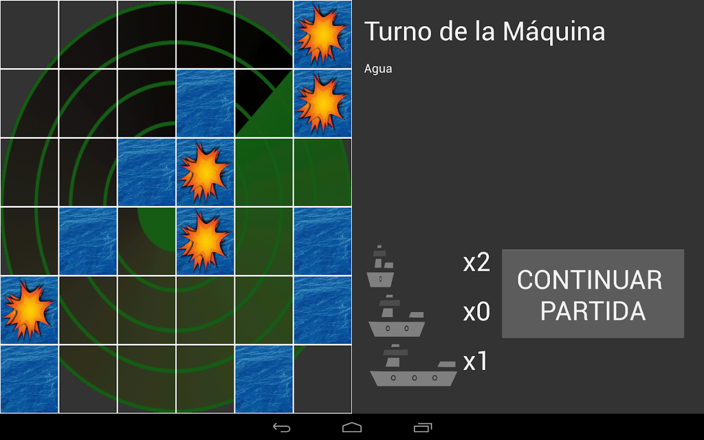 Hundir la Flota para Android- screenshot