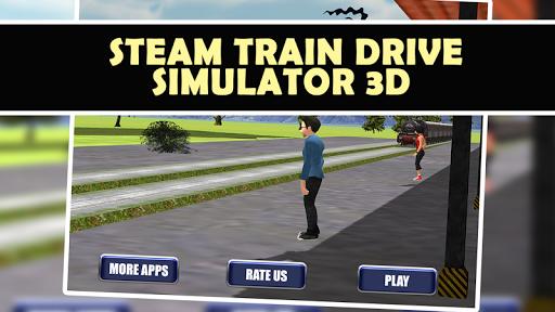 蒸汽火车驾驶模拟器3D