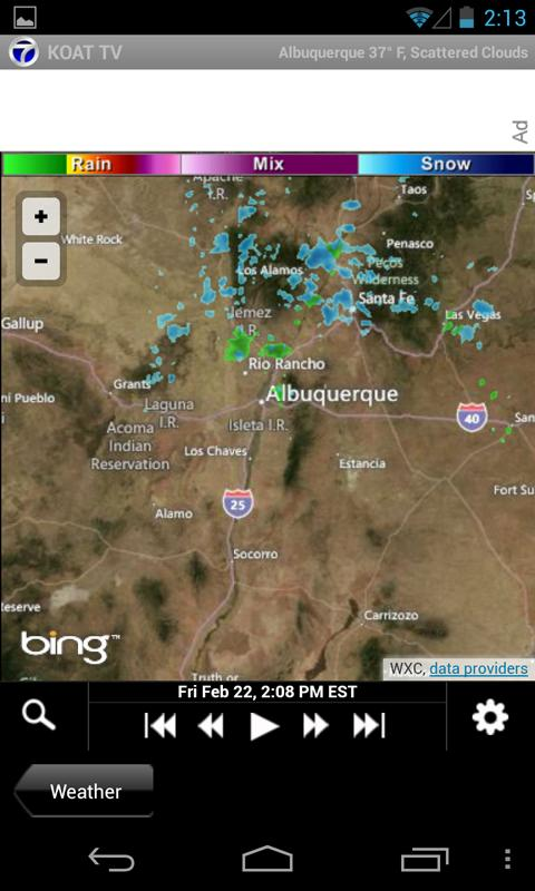 KOAT Albuquerque news, weather - screenshot