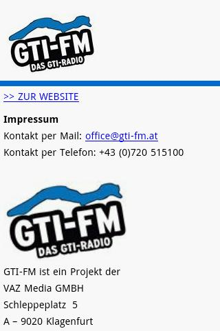 GTI-FM App - screenshot