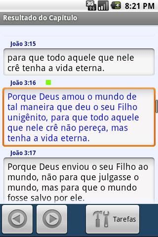 Biblia para Mobiles(Portugues) - screenshot