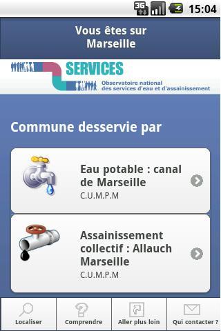 SISPEA Eau et Assainissement- screenshot