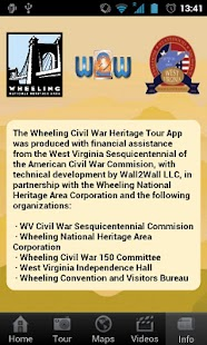 Wheeling Civil War Tour- screenshot thumbnail