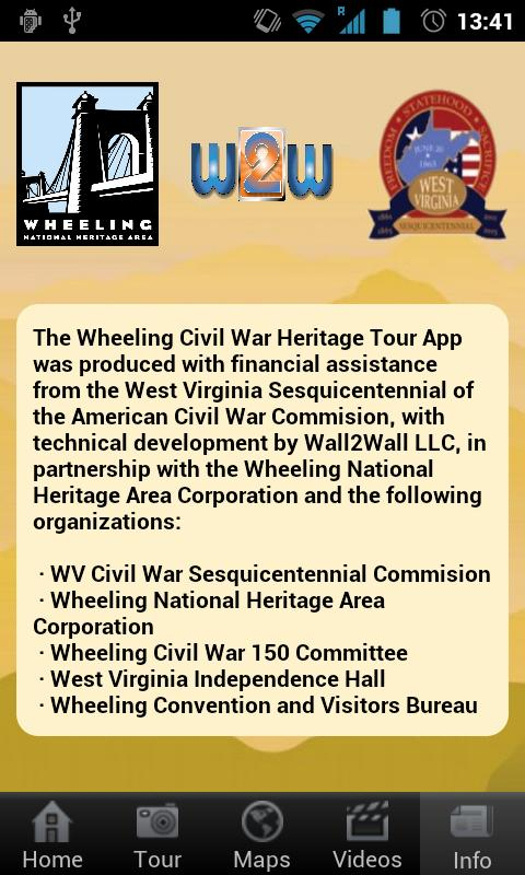 Wheeling Civil War Tour- screenshot