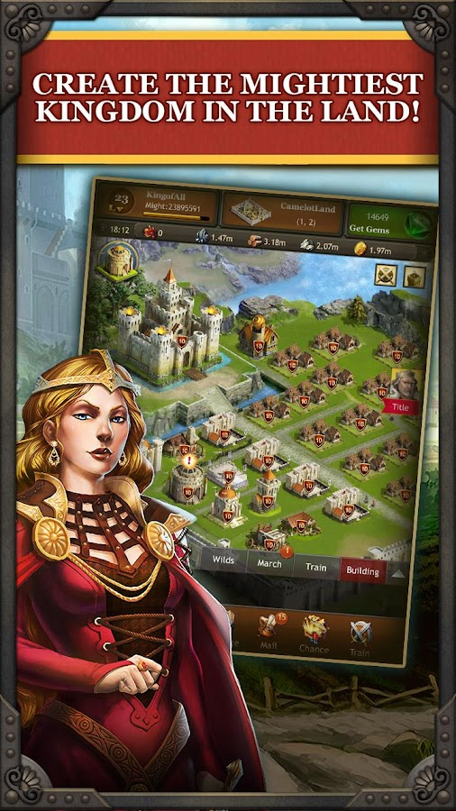 Kingdoms of Camelot: Battle - screenshot
