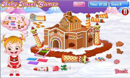 Baby Hazel Gingerbread House 6 screenshot 639481