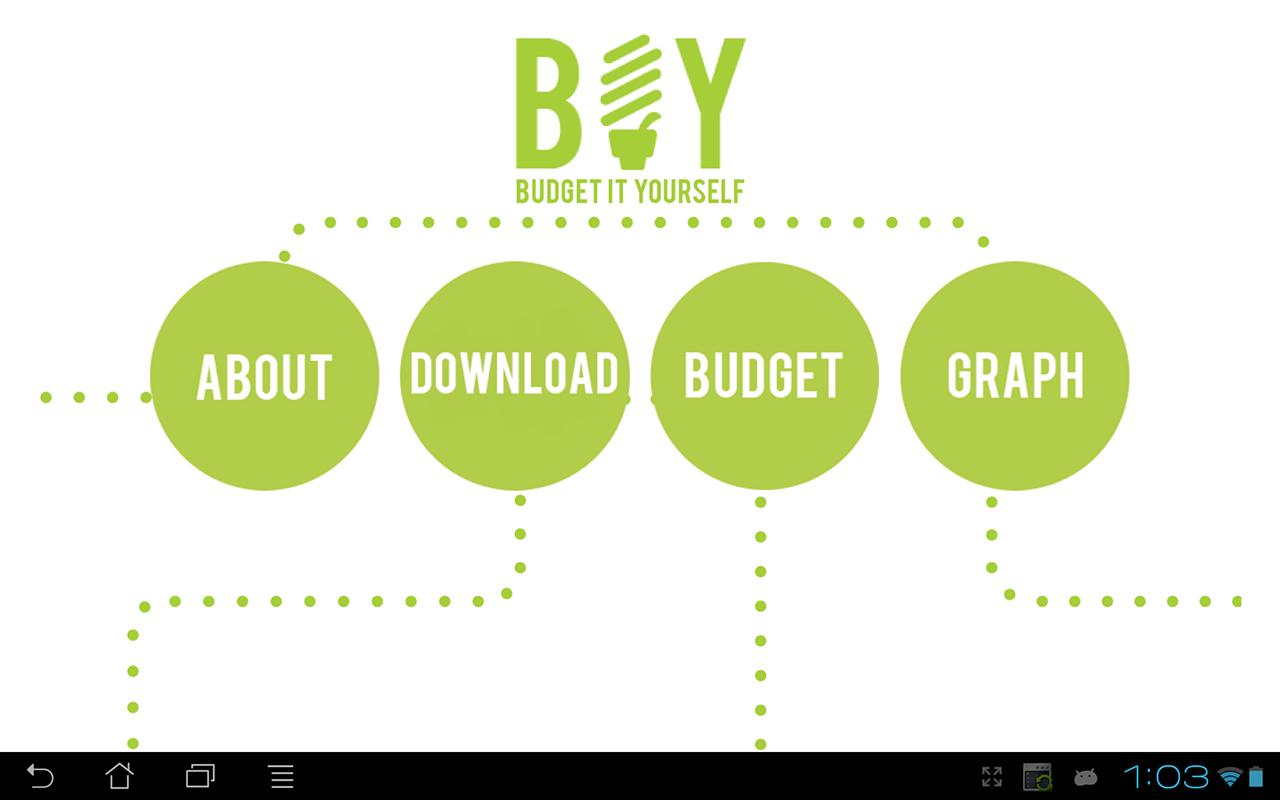 Budget It Yourself- screenshot