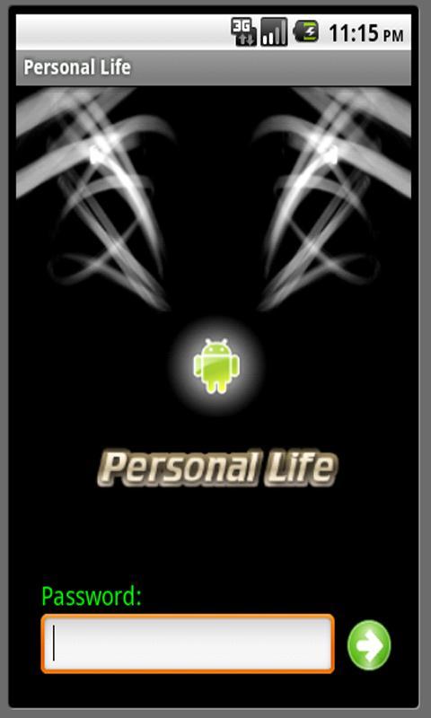 Personal Life- screenshot