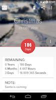 Screenshot of Holo Countdown