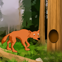 Fox who got Caught in the Tree logo