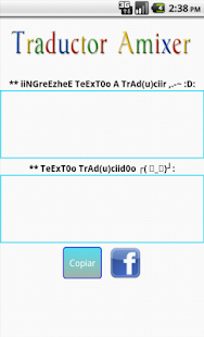 Traductor Amixer - screenshot thumbnail