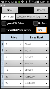 FBAScan - For Amazon Sellers! - screenshot thumbnail