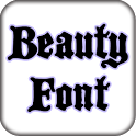 Beauty Fonts For FlipFont® icon