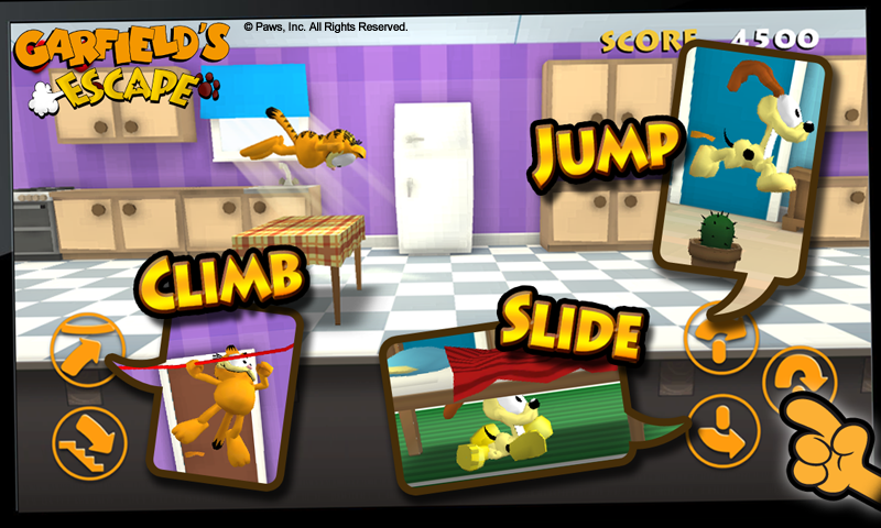 Garfield's Escape- screenshot