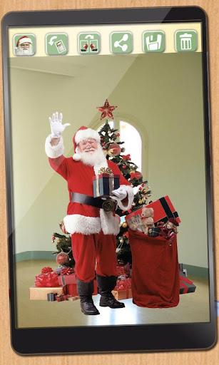 サンタとあなたの写真