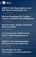 Screenshot of Börse Stuttgart