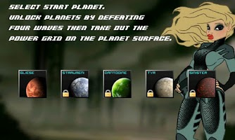 Screenshot of Sinister Planet