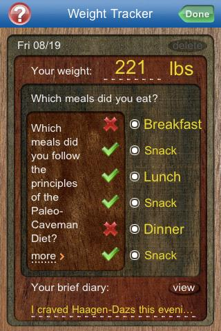 Paleo Caveman Diet- screenshot