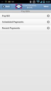 Centennial Bank Mobile- screenshot thumbnail