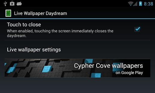 Live Wallpaper Daydream Screenshot 2