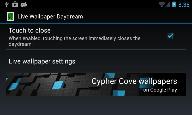Live Wallpaper Daydream - screenshot