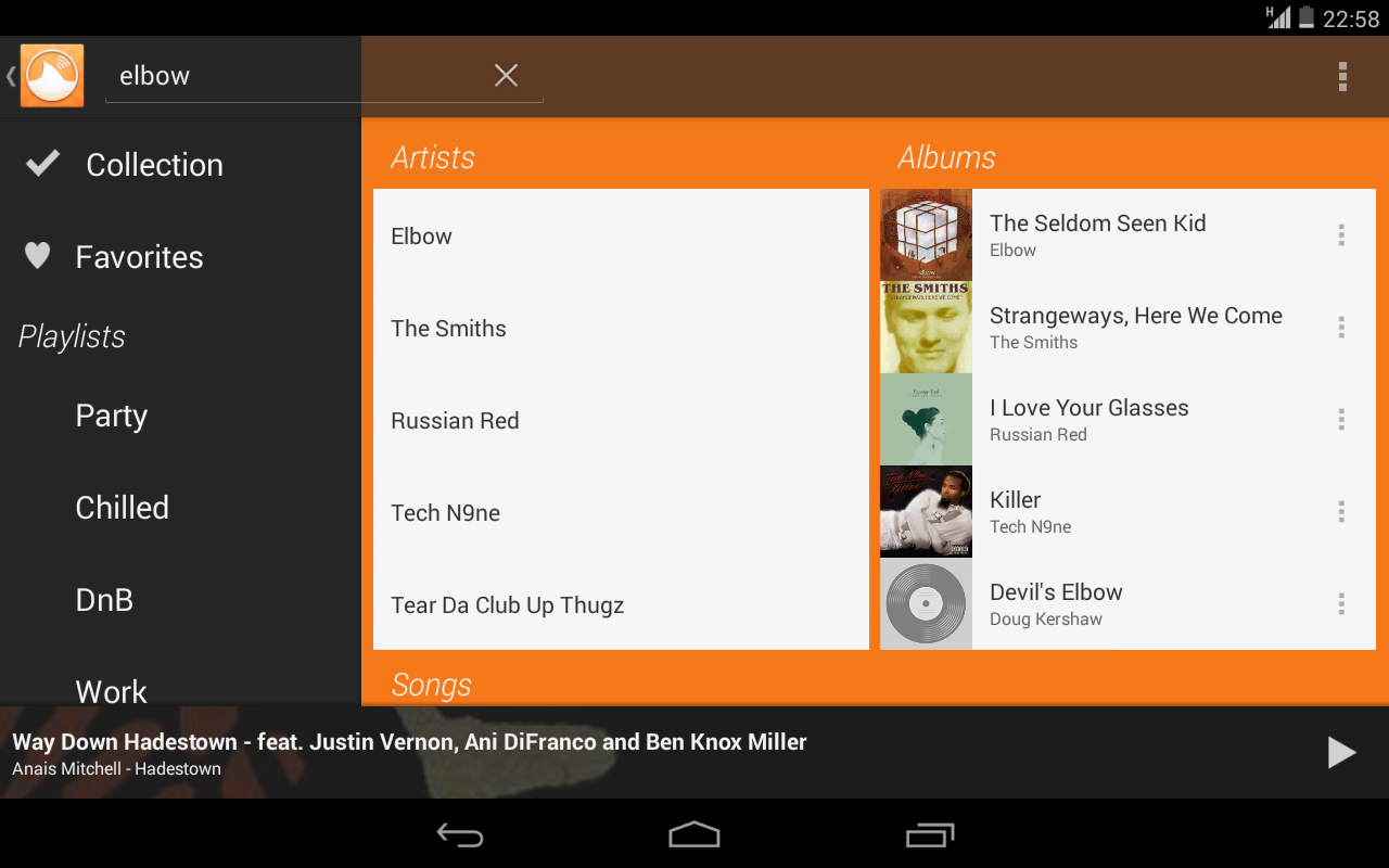 GSRemote for Grooveshark - screenshot