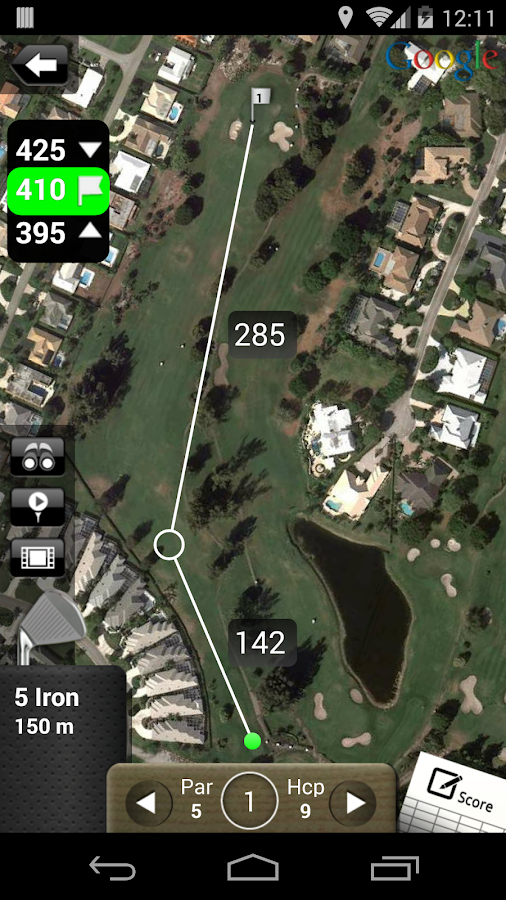 MobiteeLite Golf GPS Assistant- スクリーンショット