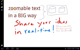 Screenshot of SyncSpace Shared Whiteboard